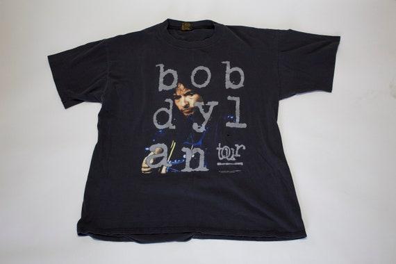 1992 Vintage Original Bob Dylan Concert Band Tshir