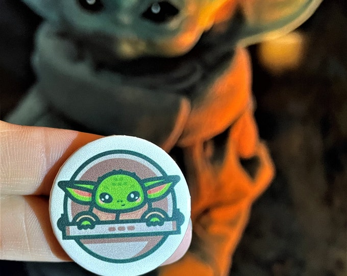 Baby Yoda Needle Minder Magnet --Gift or Stocking Stuffer
