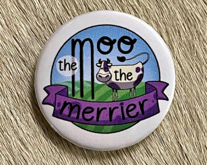 The Moo the Merrier Needle Minder Magnet --Gift or Stocking Stuffer