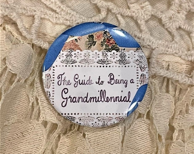 Guide to Being a Grandmillennial? Needle Minder Magnet
