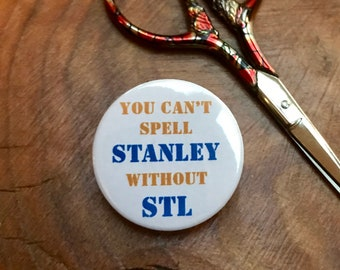 -Gift or Stocking Stuffer St Louis Blues Stanley Cup Championship Needle Minder Magnet