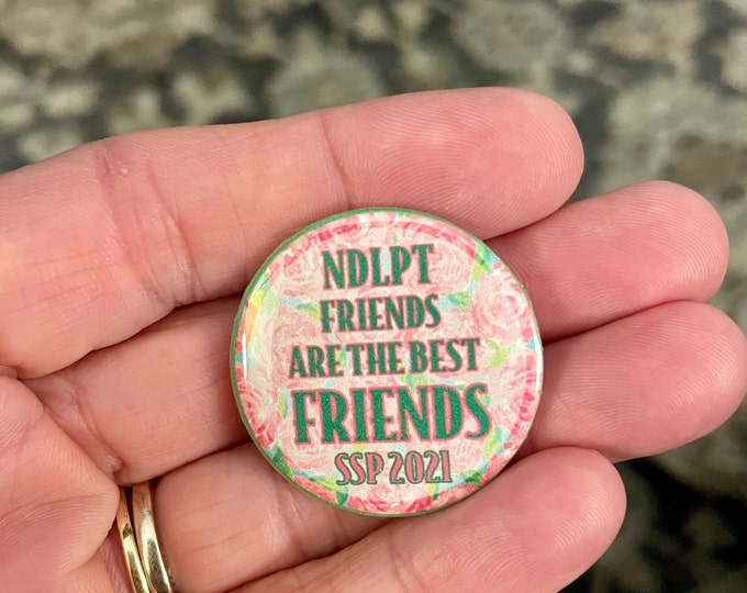 NDLPT Friends are the BEST Friends! Needle Minder Magnet --Gift or Stocking Stuffer for Stitchers