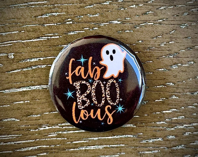 Fab BOO lous Halloween Needle Minder Magnet - Great gift