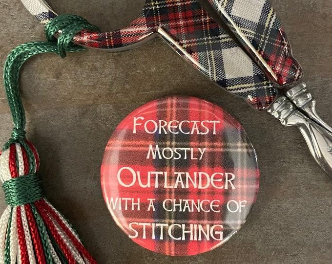 Outlander Forecast for Stitching Needle Minder Magnet