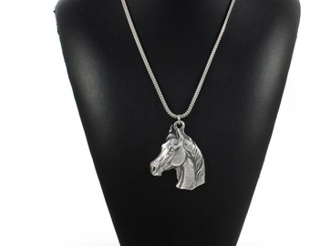 NEW, Arabian Horse, horse necklace, silver chain 925, limited edition, ArtDog