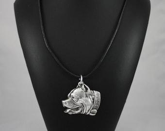 Pit Bull, dog necklace, limited edition, ArtDog