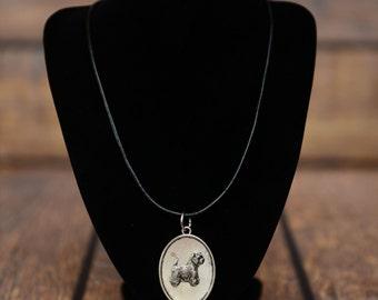 West Highland White Terrier, dog necklace, medallion, limited edition, extraordinary gift, ArtDog