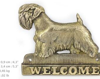 Sealham Terrier, dog welcome, hanging decoration, limited edition, ArtDog