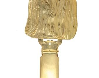 Shih-Tzu, millesimal fineness 999, dog clipring, dog show ring clip/number holder, limited edition, ArtDog