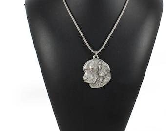 NEW, Golden Retriever, dog necklace, silver cord 925, limited edition, ArtDog
