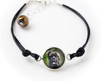 Cane Corso, Italian mastiff. Bracelet for people who love dogs. Photojewelry. Handmade.