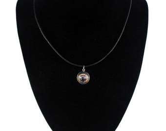 Leoneberger. Necklace, pendant for people who love dogs. Photojewelry. Handmade.