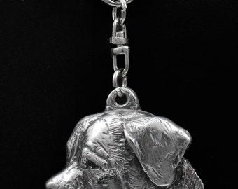 Tosa Inu, dog keyring, keychain, limited edition, ArtDog . Dog keyring for dog lovers