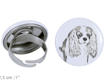 Ring with a dog - Cavalier King Charles Spaniel