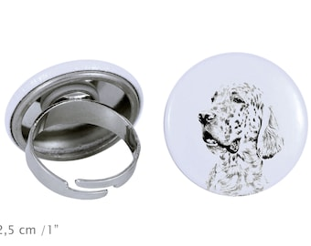 Ring with a dog- English Setter