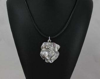 Dogue de Bordeaux, dog necklace, limited edition, ArtDog