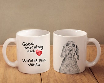 WALKING MY VIZSLA Novelty//Funny Printed Coffee//Tea Mug Ideal Gift//Present 236