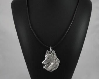 Belgian Shephard, dog necklace, limited edition, ArtDog