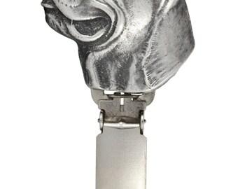 Cane Corso, dog clipring, dog show ring clip/number holder, limited edition, ArtDog