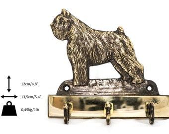 Bouvier des Flandres, dog hanger, for clothes, limited edition, ArtDog
