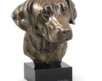 Rhodesian Ridgeback, dog marble statue, limited edition, ArtDog. Made of cold cast bronze. Perfect gift. Limited edition