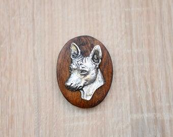 Basenji, dog clipring, dog show ring clip/number holder, limited edition, ArtDog