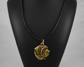 Filia Brasileiro, millesimal fineness 999, dog necklace, limited edition, ArtDog