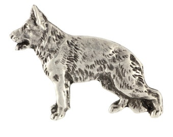 German Shepherd, dog pin, limited edition, ArtDog
