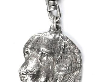 NEW, Golden Retriever, dog keyring, key holder, limited edition, ArtDog . Dog keyring for dog lovers