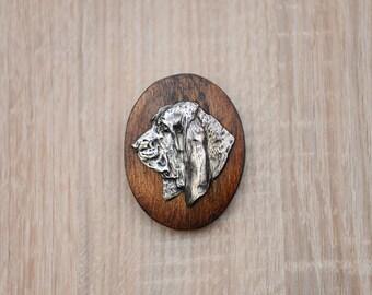 Basset Hound, dog clipring, dog show ring clip/number holder, limited edition, ArtDog