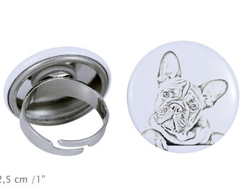 Ring with a dog - French Bulldog