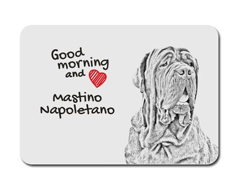 Neapolitan Mastiff, A mouse pad with the image of a dog. Collection!