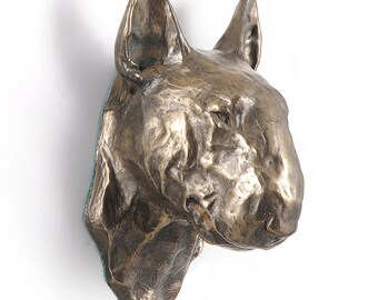 Bull Terrier, dog hanging statue, limited edition, ArtDog