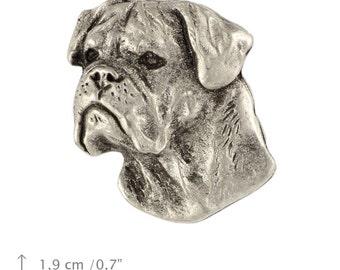 Bullmastiff, dog pin, limited edition, ArtDog