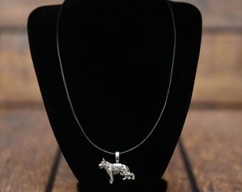 German Shepherd , dog necklace, limited edition, extraordinary gift, ArtDog