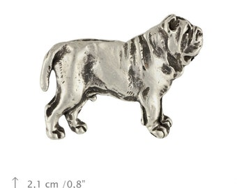 Mastino Napolitano, Neapolitan Mastiff (body), dog pin, limited edition, ArtDog