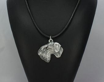 Cesky Terrier, dog necklace, limited edition, ArtDog