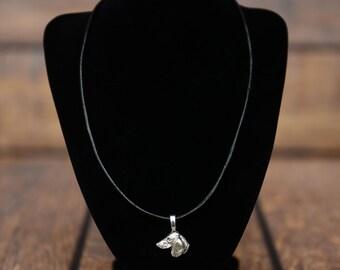 Jamnik , dog necklace, limited edition, extraordinary gift, ArtDog