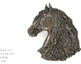 Fresian Horse, horse hanging statue, limited edition, ArtDog