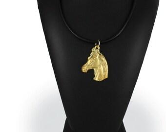 Arabian Horse, millesimal fineness 999, horse necklace, limited edition, ArtDog