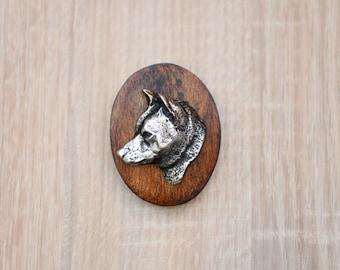 Shiba Inu, dog show ring clip/number holder, limited edition, ArtDog