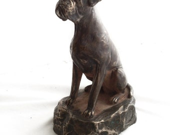 Boxer, dog statue, limited edition, ArtDog