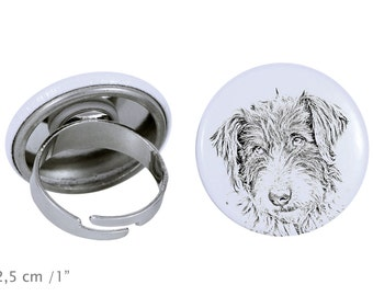 Ring with a dog- Romanian Mioritic Shepherd Dog