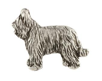 Briard body, dog pin, limited edition, ArtDog