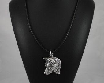 Shiba Inu, dog necklace, limited edition, ArtDog