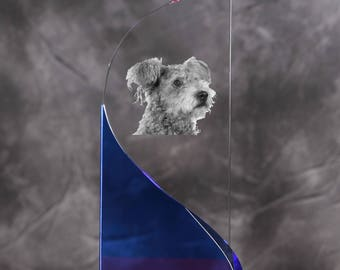 Pumi- crystal statue in the likeness of the dog