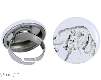 Ring with a dog - English Pointer