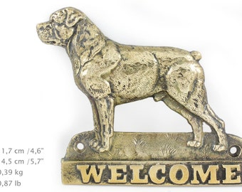 Rotweiler, dog welcome, hanging decoration, limited edition, ArtDog