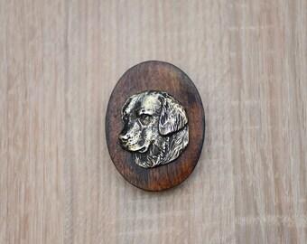 Golden Retriever, dog clipring, dog show ring clip/number holder, limited edition, ArtDog