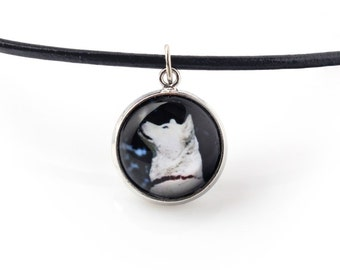 Akita Inu. Necklace, pendant for people who love dogs. Photojewelry. Handmade.